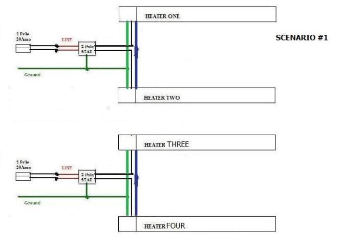 diagram wall electric baseboard heaters wiring diagrams