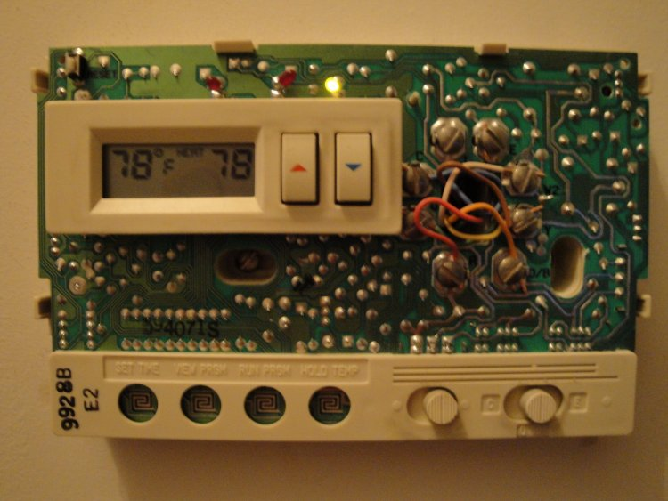 ➤ diagram carrier heat pump thermostat wiring diagram kimberlychanging thermostat from whiterodgers to hunter, need