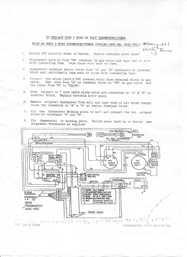 Wiring Diagram For White Rodgers Thermostat Model 1f78 : White rodgers thermostat wiring diagram model