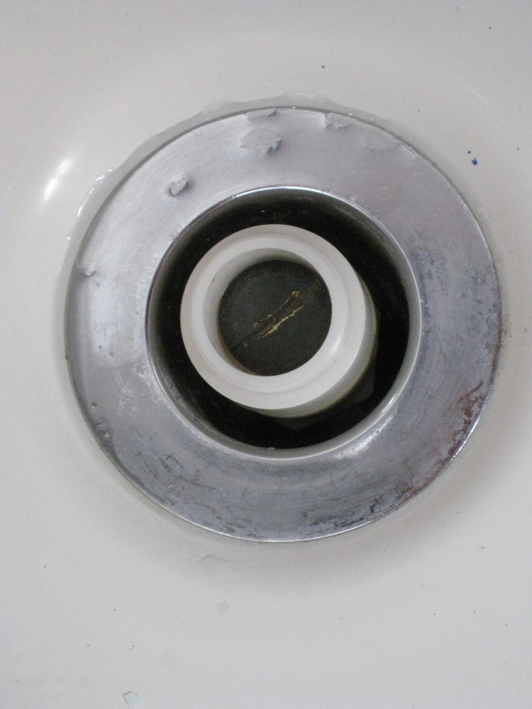 Bathtub Drain Removal Pop Up Toe Touch Type