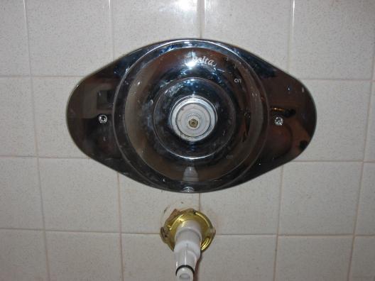 Removing Delta Bathtubshower Single Handle Faceplate