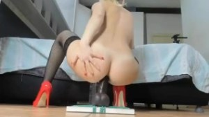 Lady_anal Big dildo in ass And orgasme ass 2