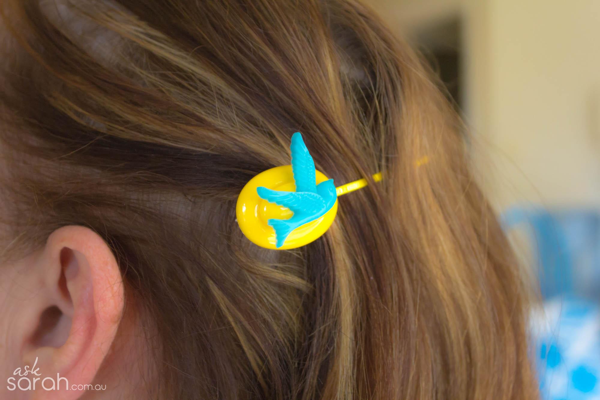 DIY Vintage Inspired Hairpins