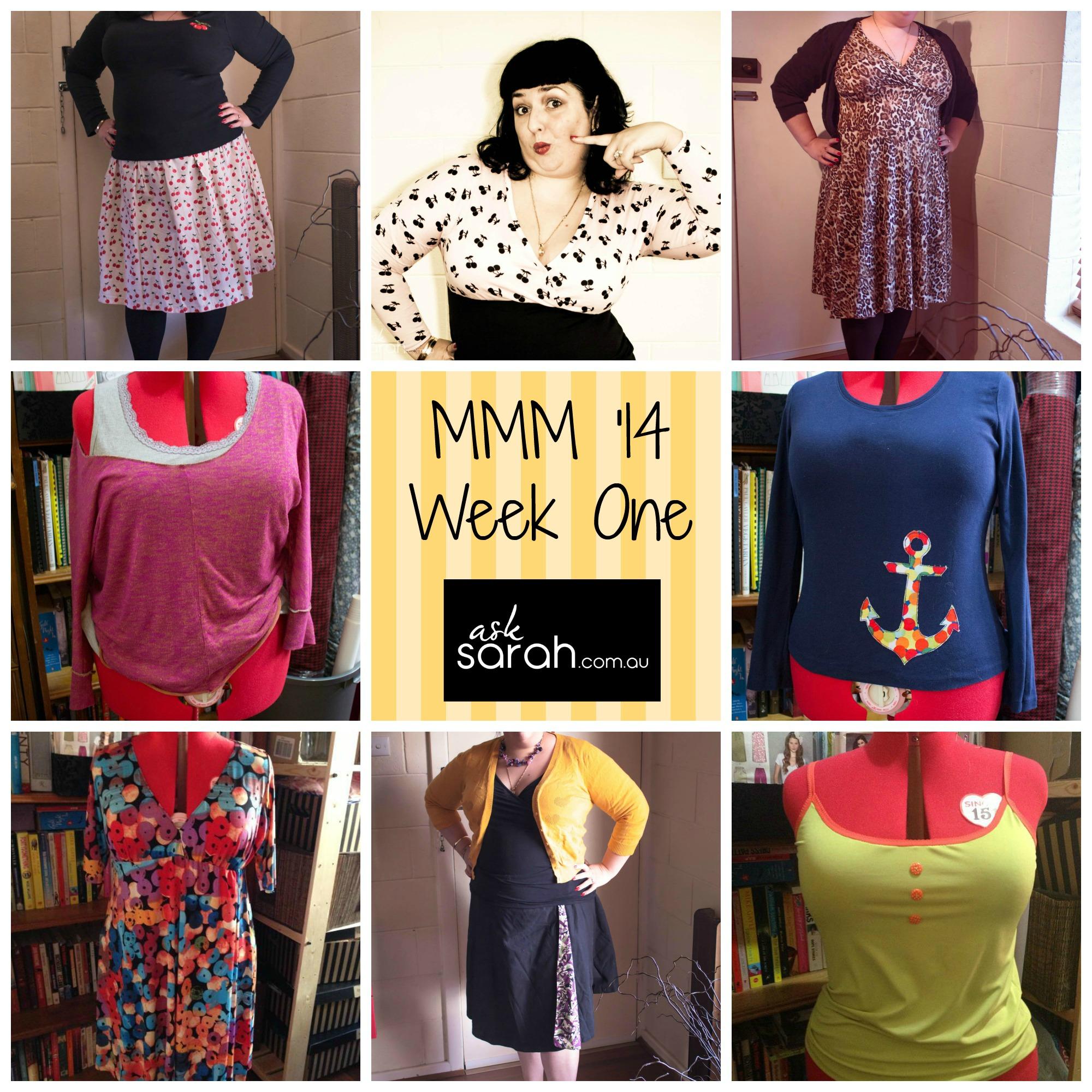 MMM'14 Outfits Week 1