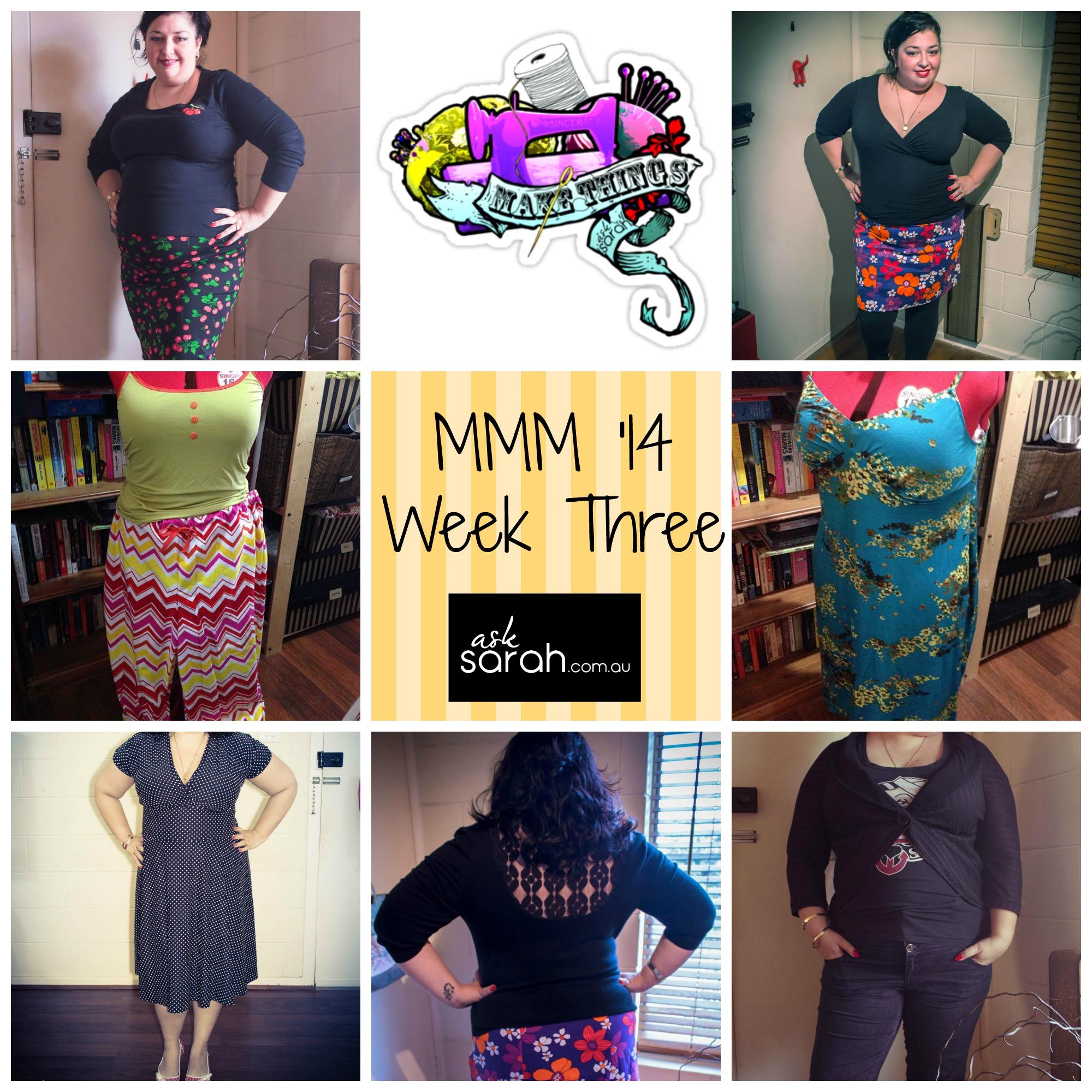 MMM '14 Outfits Week Three