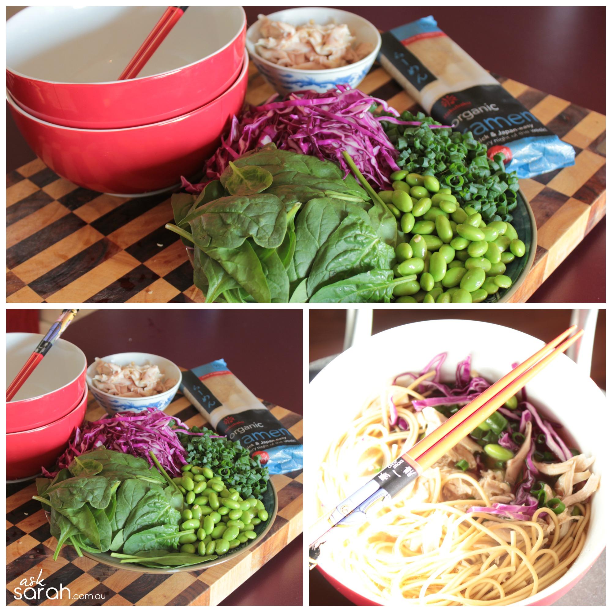 Recipe: Easy 20 Minute Ramen {Vegetarian or Meaty}