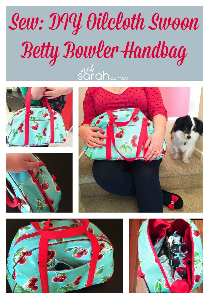 Sew: DIY Oilcloth Betty Bowler Handbag {Yeah, Let's Make Our Own Handbags}