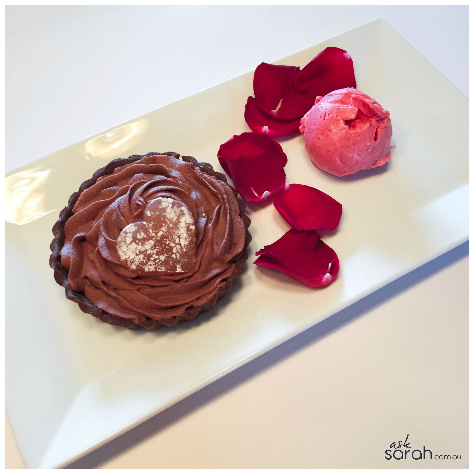 Recipe: The Five Senses Chocolate Raspberry Rose Dessert {A Perfect Fifth Anniversary Treat}