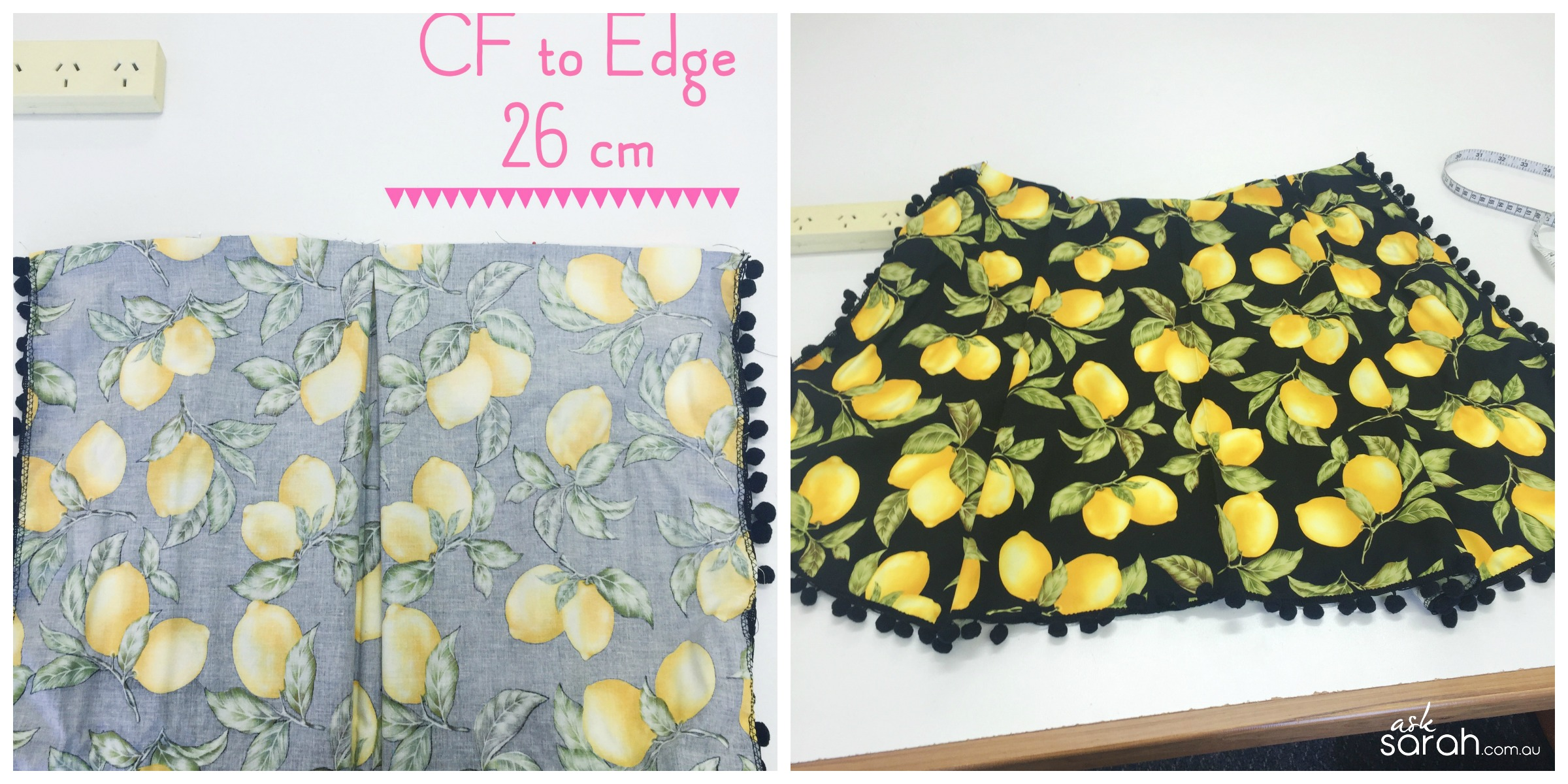 Sew: Easy & Elegant Apron {Make This In Just 30 Minutes! With 1/2 A Metre of Fabric}