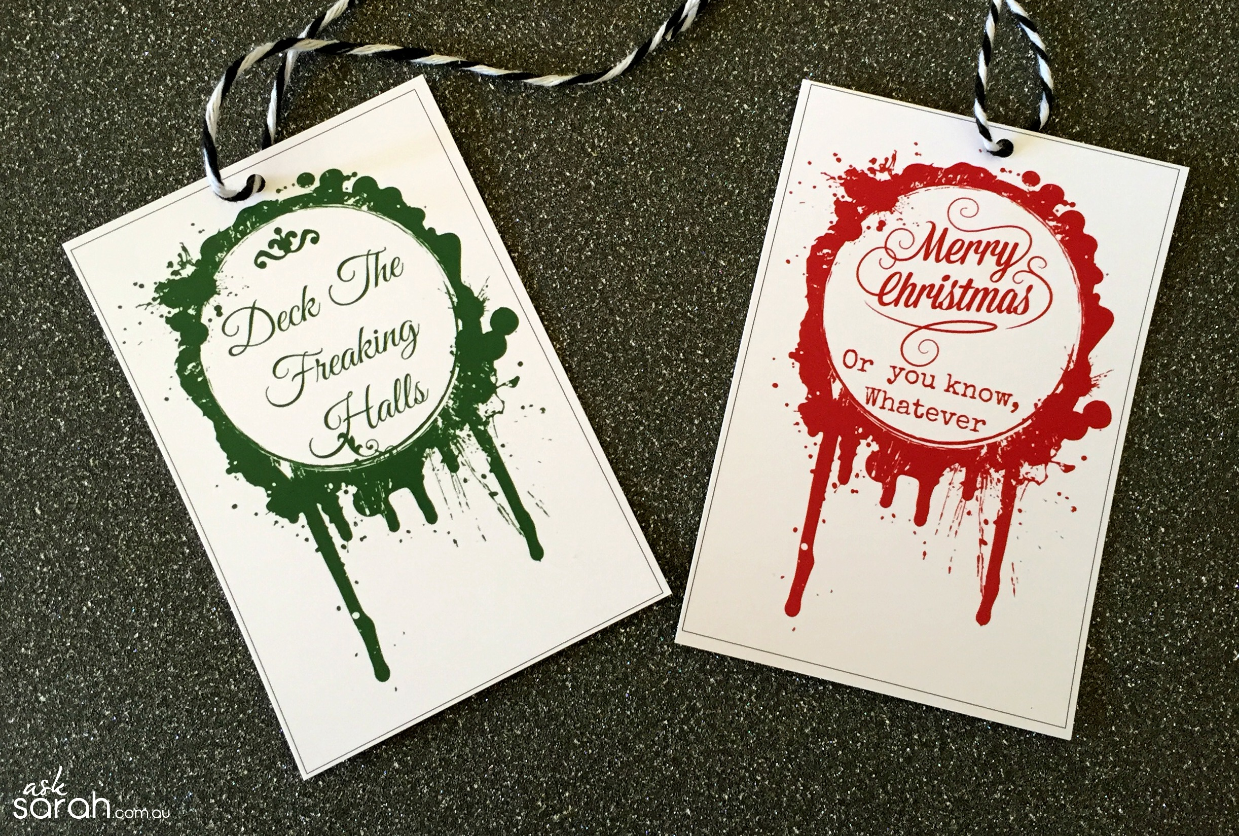 Make: FREE Printable Gift Tags! {More Than 16 Designs To Suit Everyone}