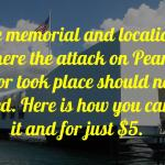 How To Visit the USS Arizona Memorial for $5