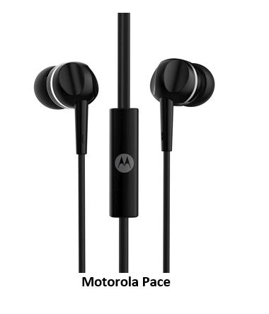 Motorola Pace earphones