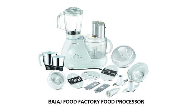 BAJAJ FOOD FACTORY FOOD PROCESSOR