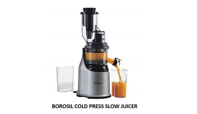 BOROSIL COLD PRESS SLOW JUICER