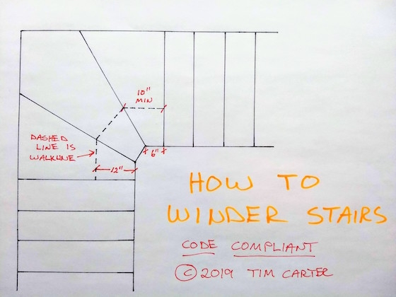How To Winder Stairs | Double Winder Staircase Design | Handrail | Attic | Bespoke Staircase | Medium Oak | Small Space