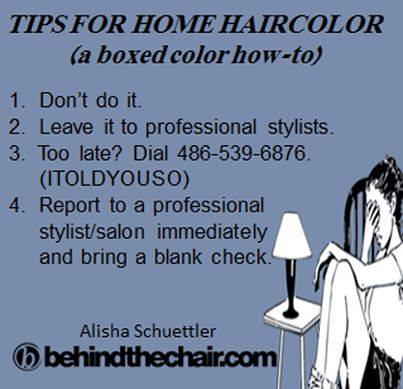 home hair color tips ask the pro stylist