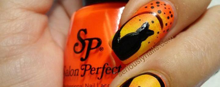 Nail Art Tutorial Black Cat Nails For