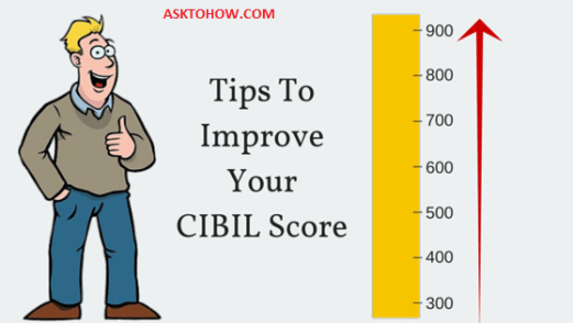 Ways to improve cibil score