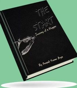 The Start book by Deepak Kumar Arya