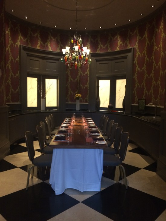 The Private Chefs Table Room Is A Smaller That Can Hold 25 People Brunch And Lunch Buffet Also Located In This Their Main Dining Area