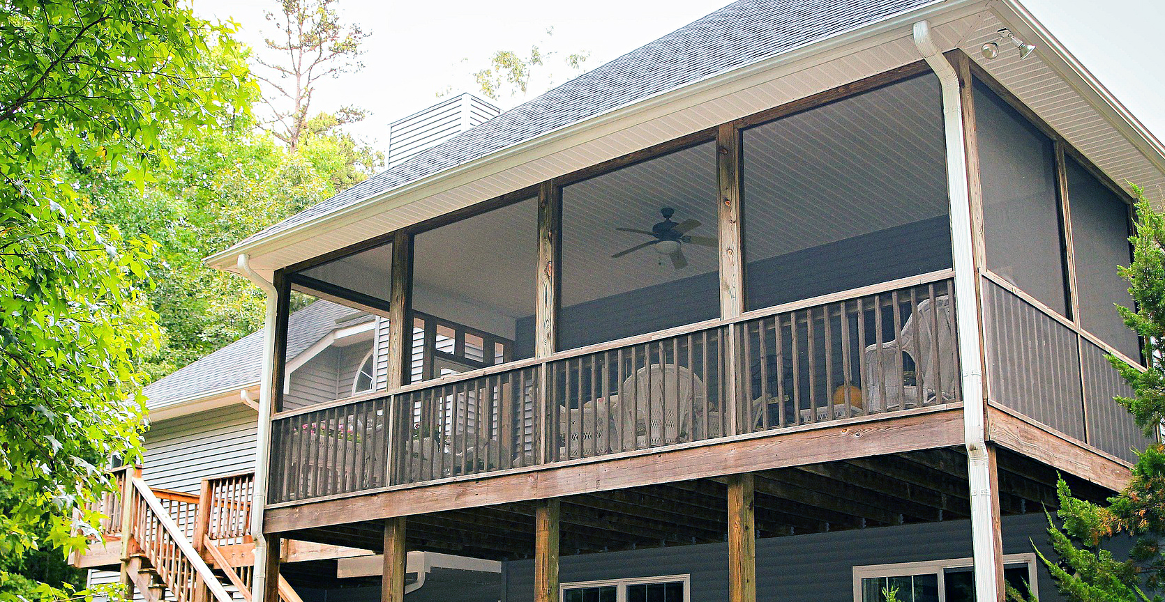 Ask Wet & Forget Enjoy the Summer Breeze With These Clever ... on Covered Back Porch Ideas id=64347