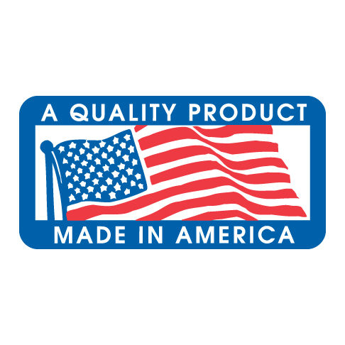 Quality Product Made in America Label