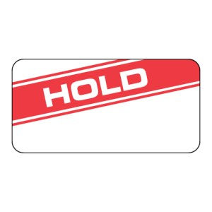 Hold Label