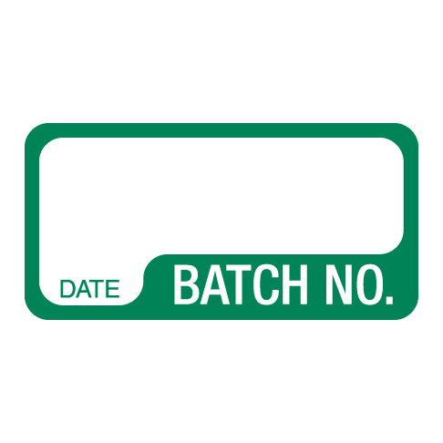 Batch Number Labels