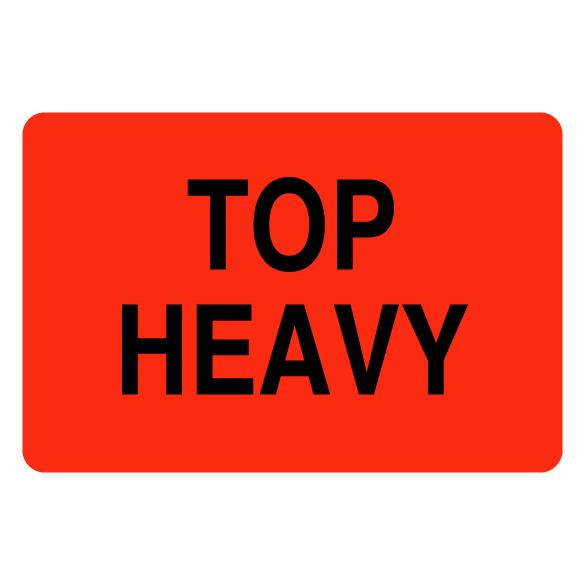 Top Heavy Label