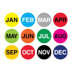 Month of the Year Labels