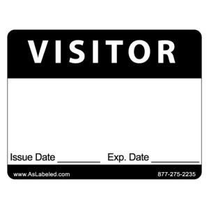 Visitor Name Tag