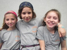 Lise, Olivia et Sarah