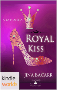 Royal Kiss | Jina Bacarr | A Slice of Orange