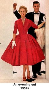 1950s Evening out