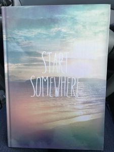 """Cover of journal titled """"Start Somewhere"""""""