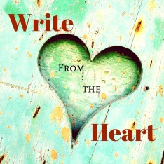 Write from the Heart | Veronica Jorge | A Slice of Orange