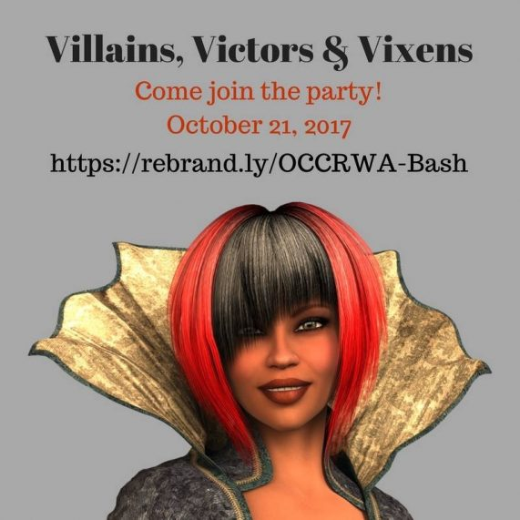 Villians, Victors & Vixens: OCC/RWA's Birthday Bash | A Slice of Orange