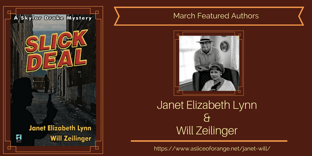Will & Janet   Featured Authors   A Slice of Orange