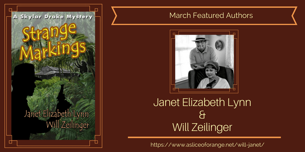 Will and Janet   Featured Authors   A Slice of Orange