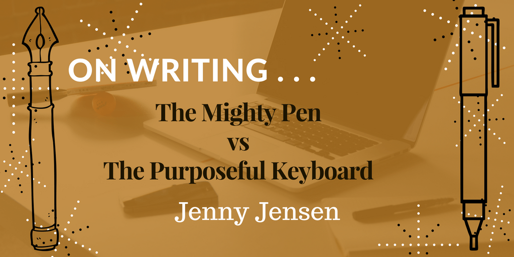 The Mighty Pen | Jenny Jensen | A Slice of Orange