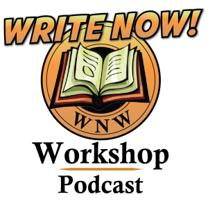WRITE NOW! Workshop Podcast logo
