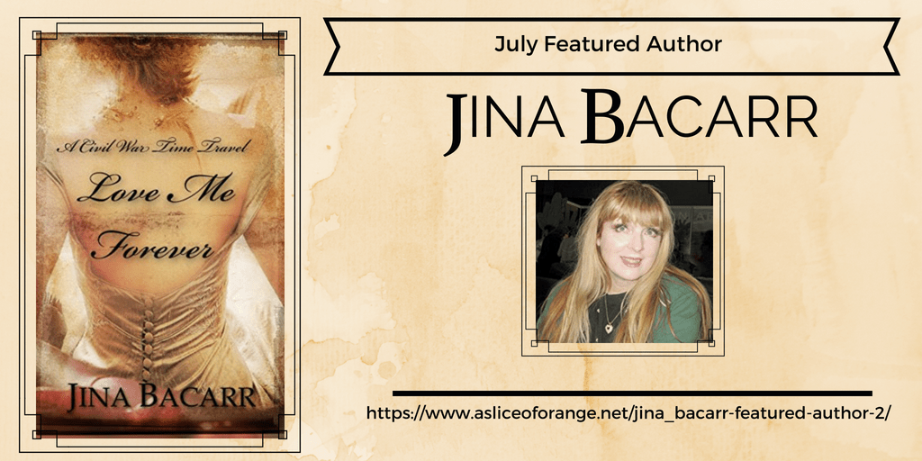 Jina Bacarr Featured Author | A Slice of Orange