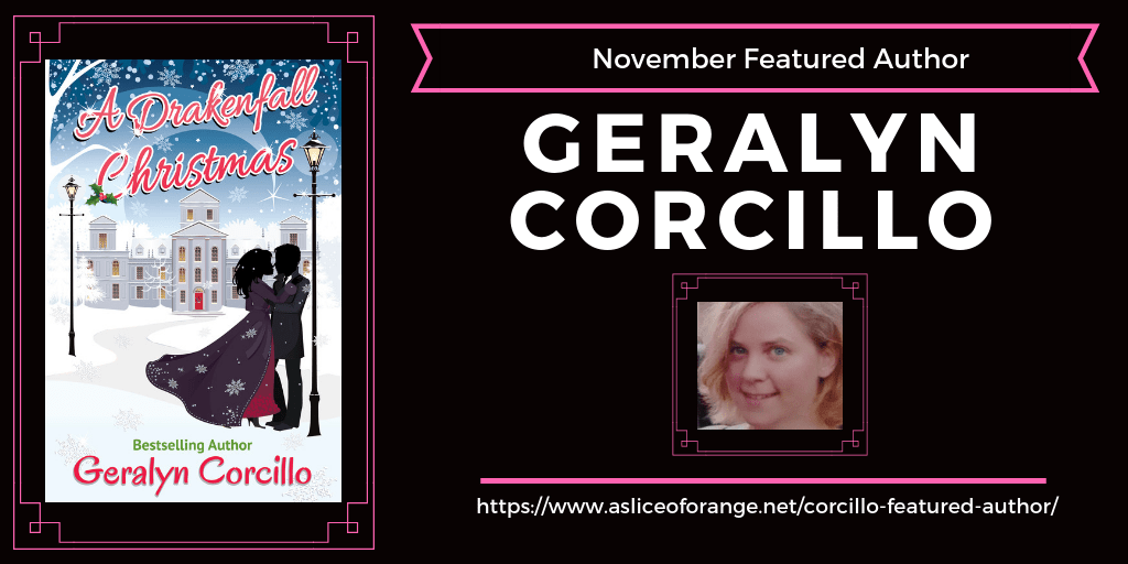 Geralyn Corcillo   Featured Author   A Slice of Orange
