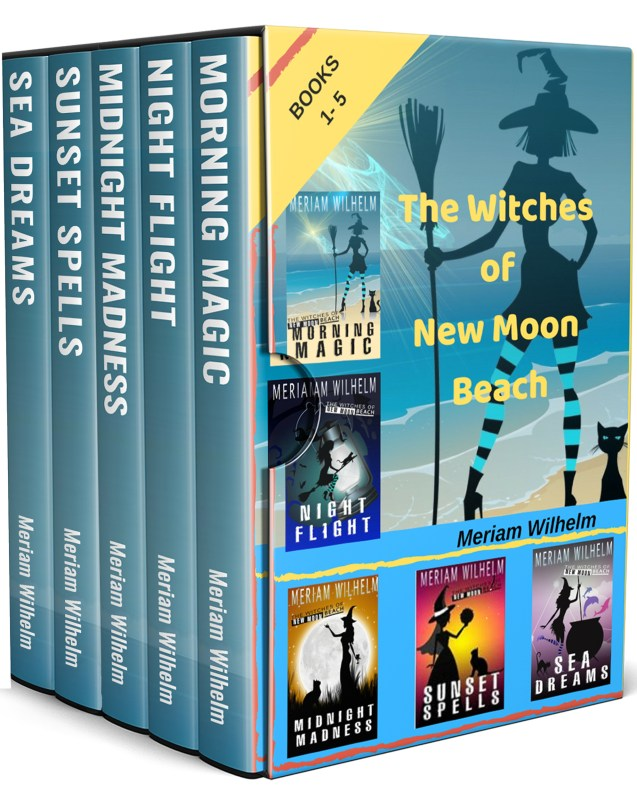 THE WITCHES OF NEW MOON BEACH BOXED SET