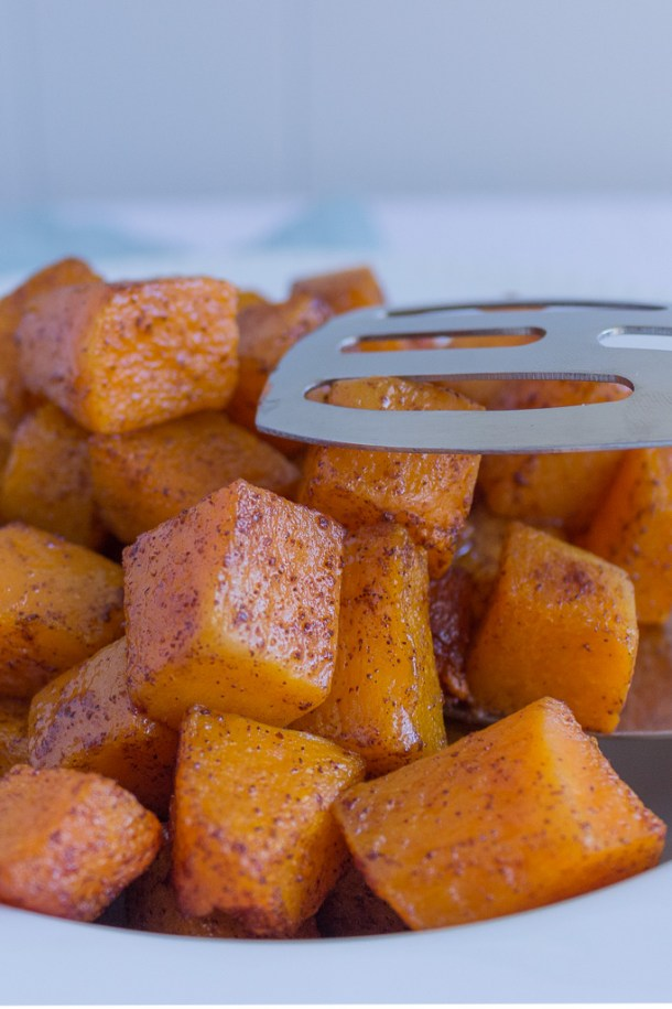 Simple Cinnamon Roasted Butternut Squash