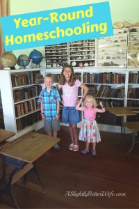 Why We Do Year-Round Homeschooling {Currently}