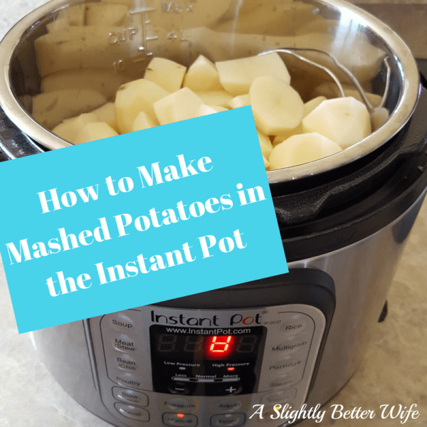 If you need quick no fail recipe for mashed potatoes in the Instant Pot, this is for you!