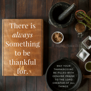 Thankful Thursday- August 17th, 2017