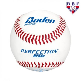 Baden 3B-NFHS Leather Match Baseball