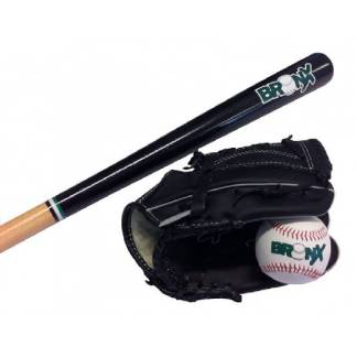 Bronx Baseball Bat, Glove and Ball Set
